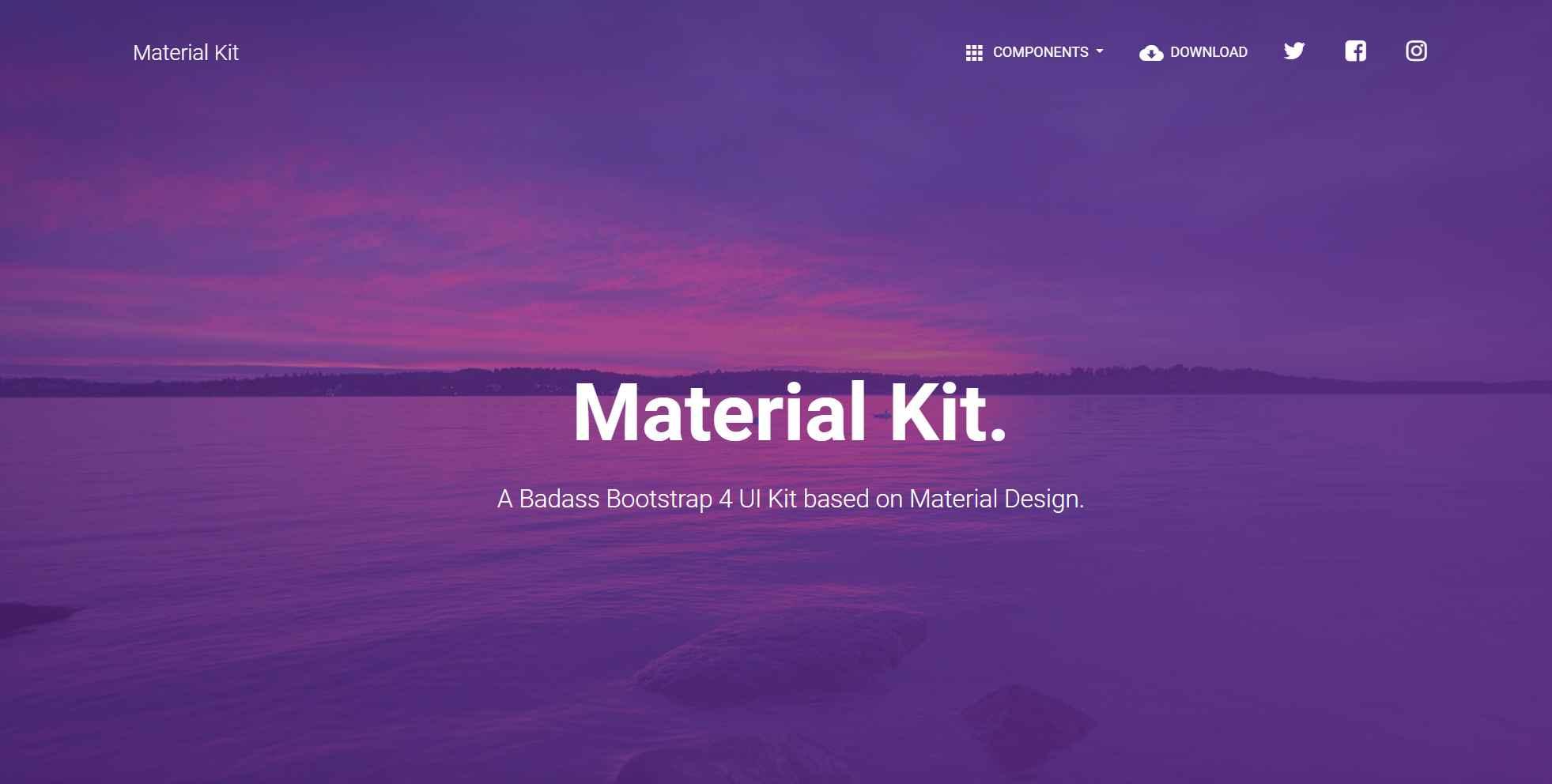 Material Kit -Material Design Example