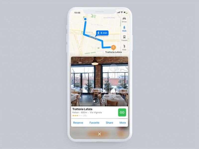 Apple Maps Concept