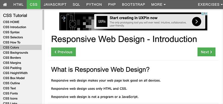 Responsive Web Design - Introduction