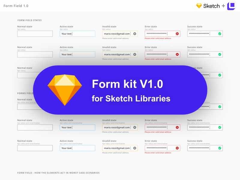UI Kit Form 1.0