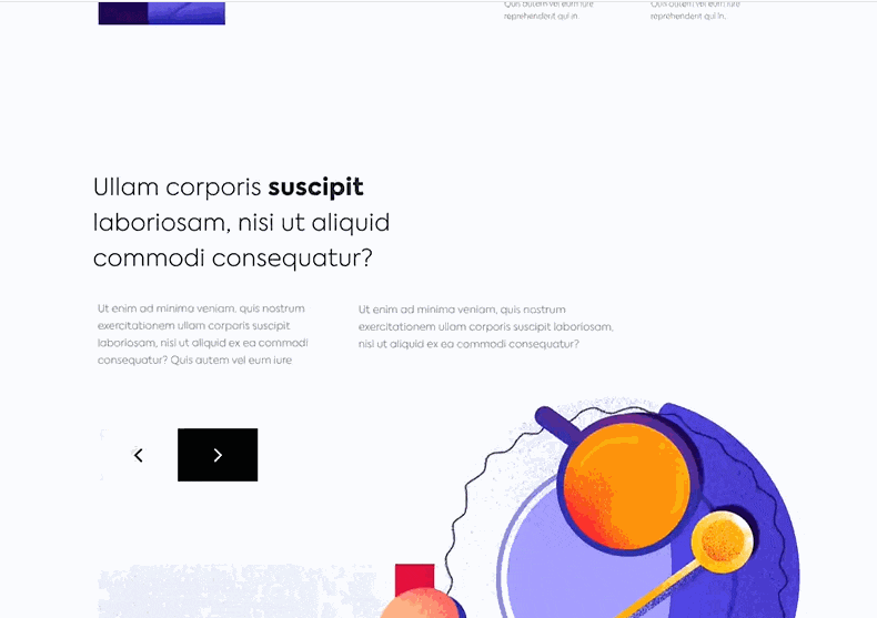 Landing page design example - Become a Michelin Star Chef