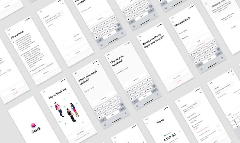 Free Stack UI Kit Sketch Resource