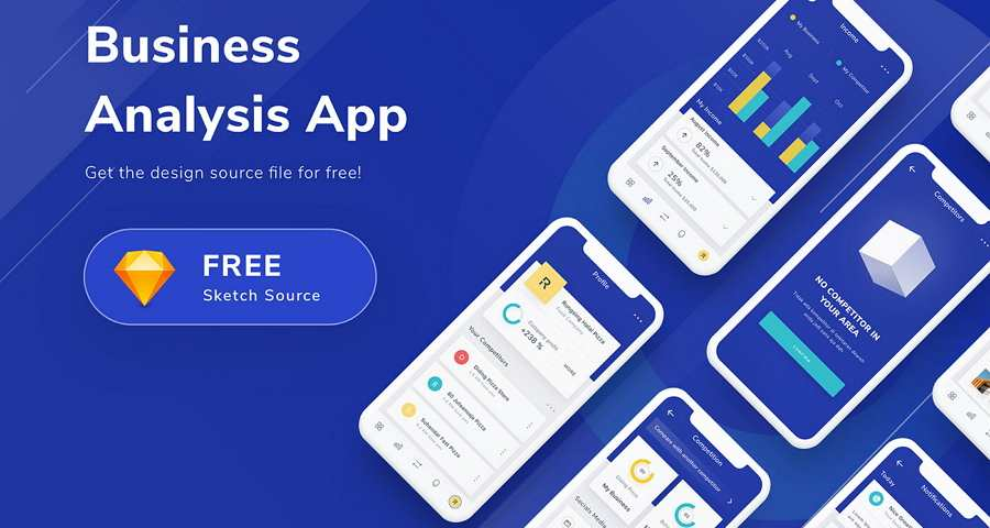 Free Business Analysis App Sketch Resource