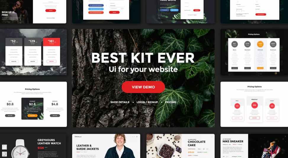 Multipurpose Web UI Kit