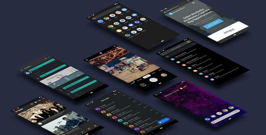Free Android 10 UI Kit