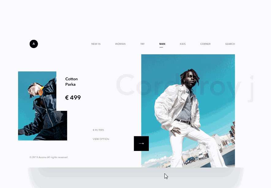 Products Page Animation