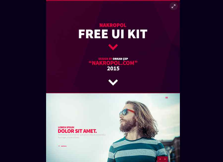 Nakropol - Free UI Kit (Web / Mobile)