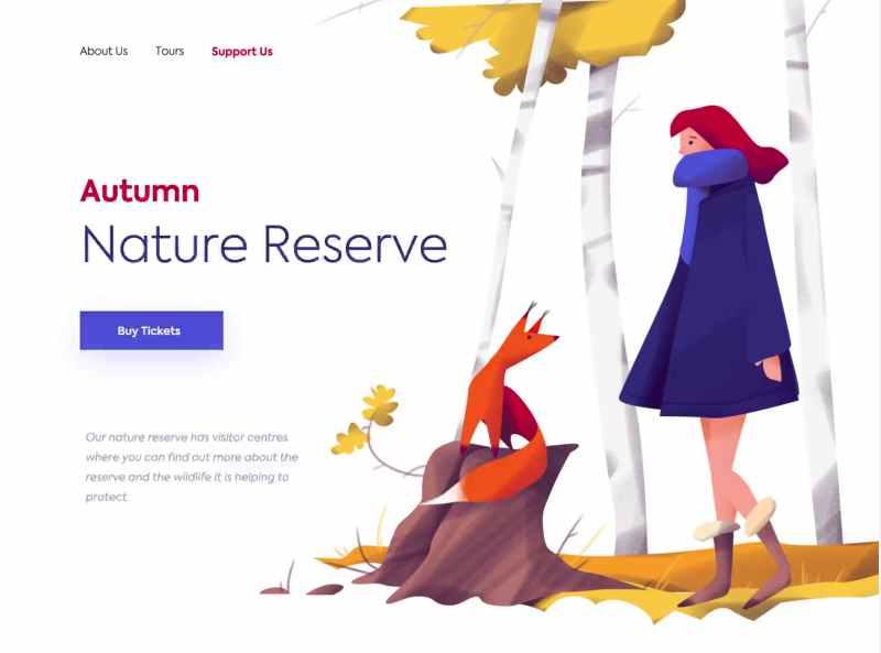 Autumn Nature Reserve