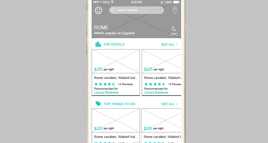 How to make a mobile first design 2