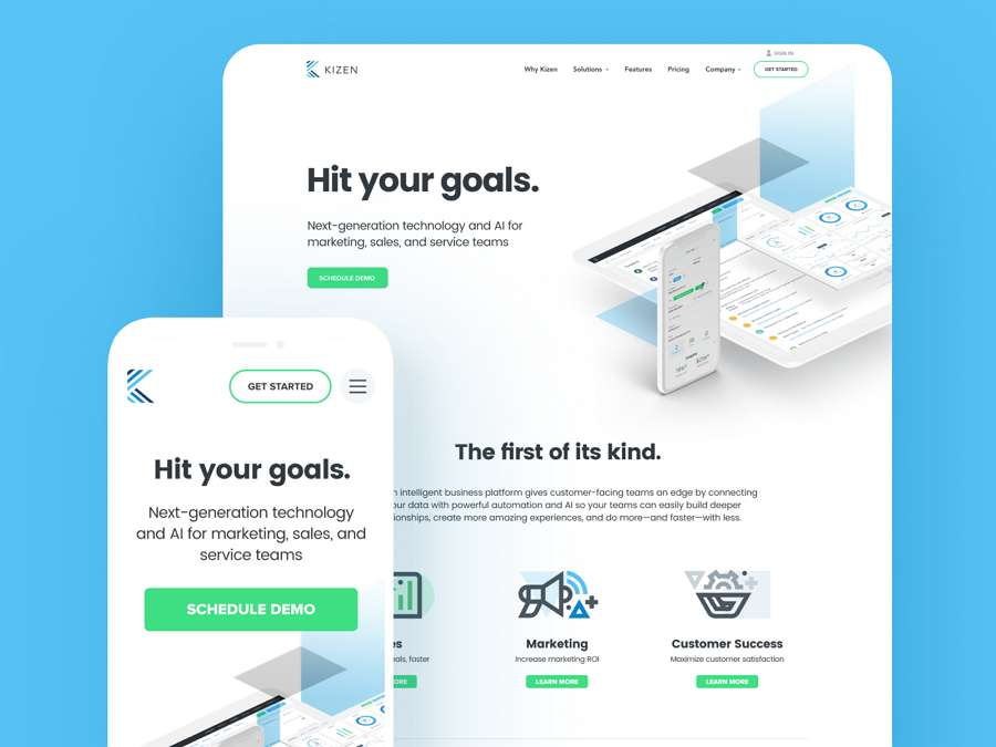 Web design trends 2019 - 1 mobile first