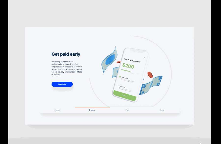 Even Home Page Product Carousel