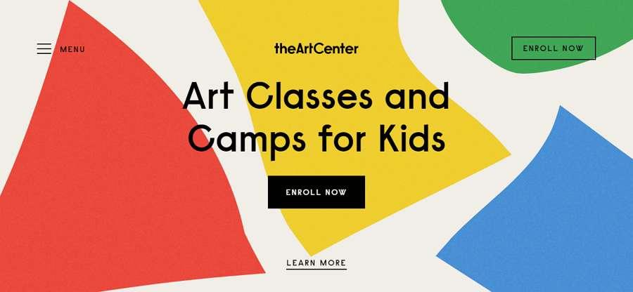 The Art Center Website