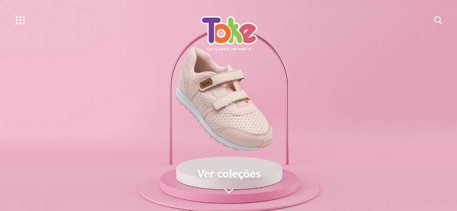 Toke Shoe Website