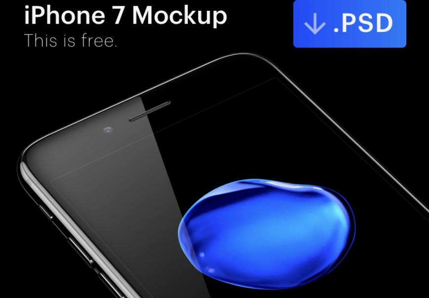 iPhone 7 prototype [PSD]