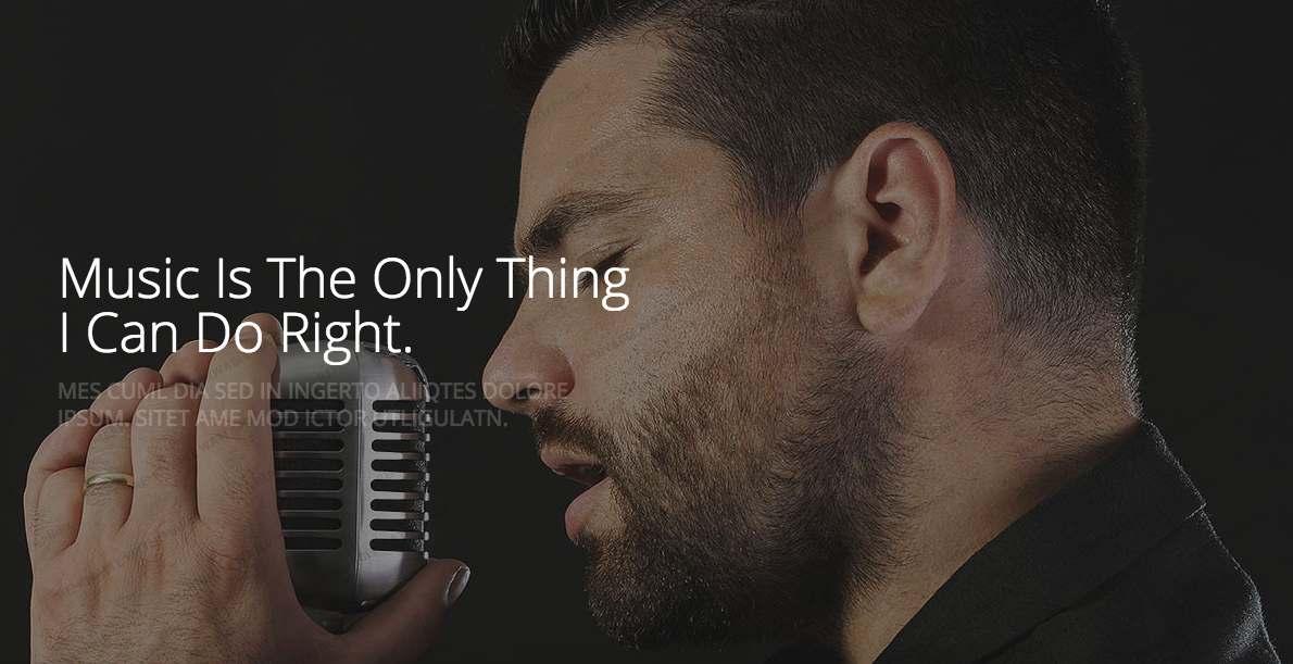 Singer Portfolio