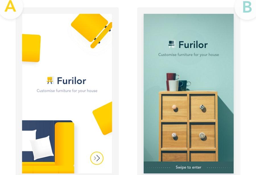 Splash Screen Furniture App