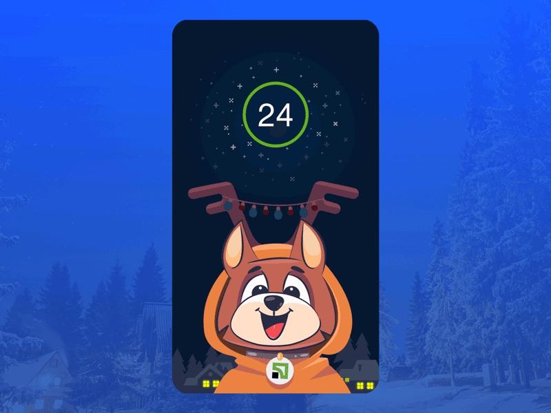 New year splash screen