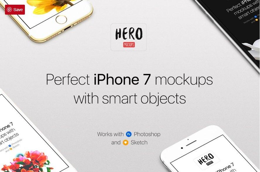 HERO iPhone 7 Mockups