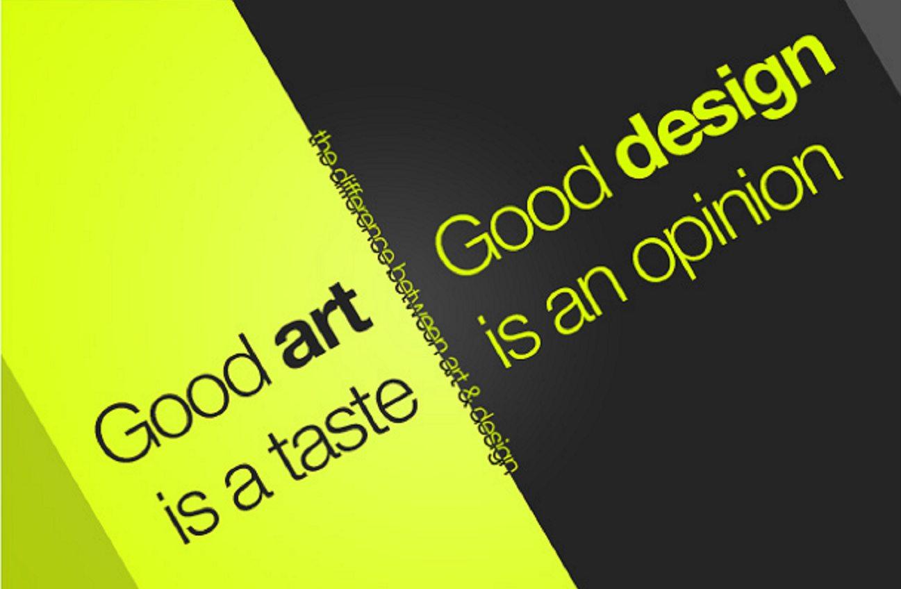 art vs design 2
