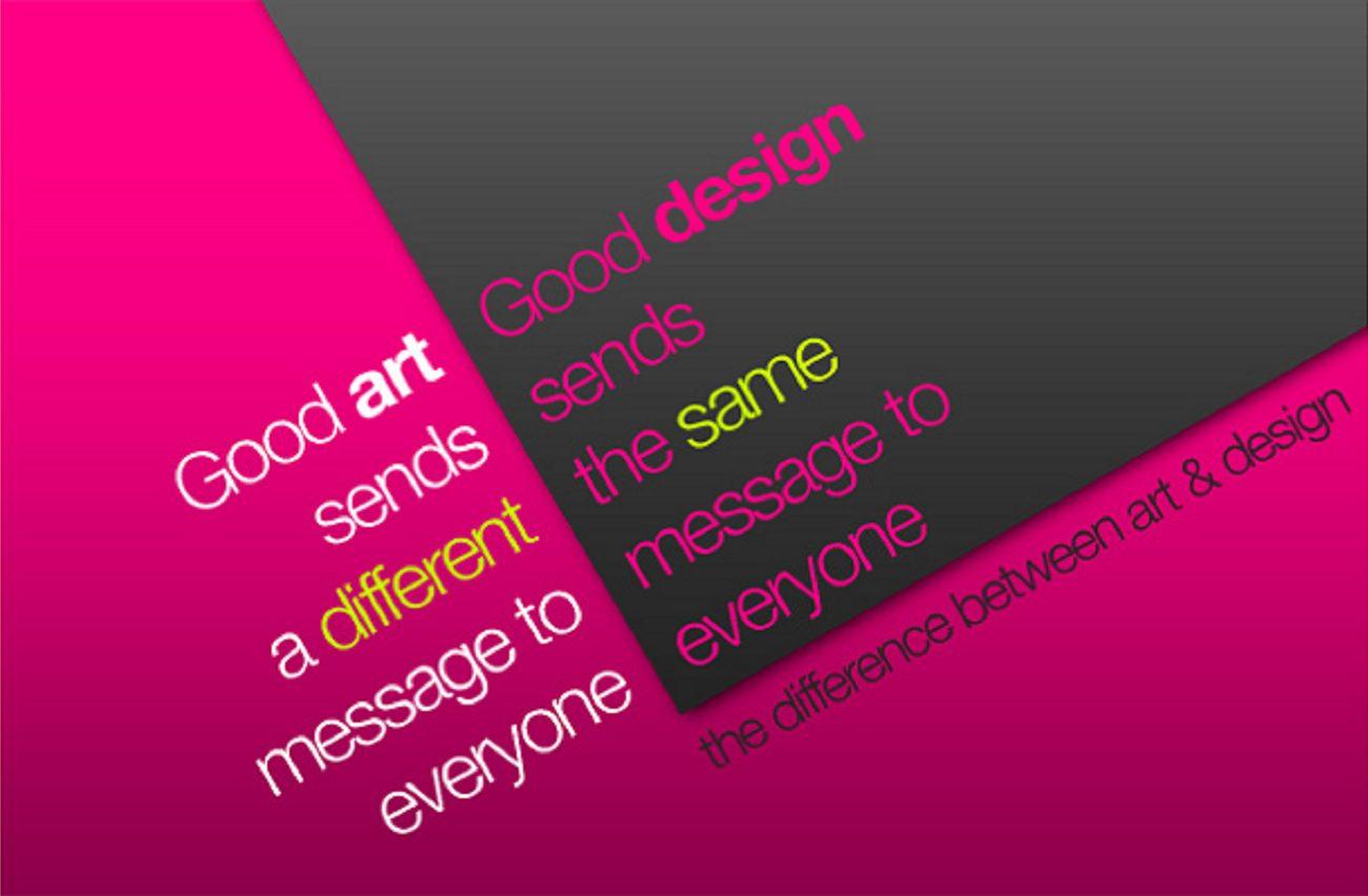art vs design 4