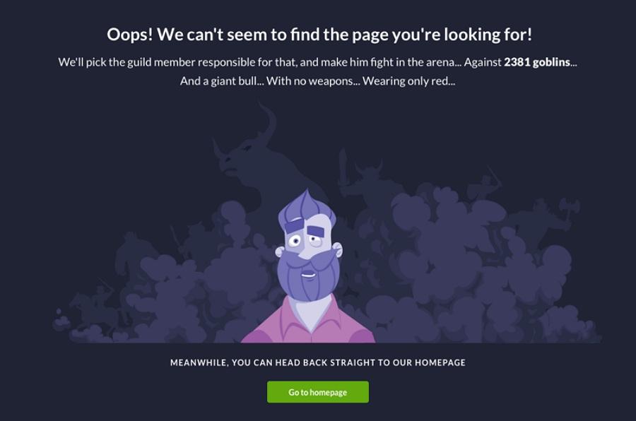 Error Page Switex