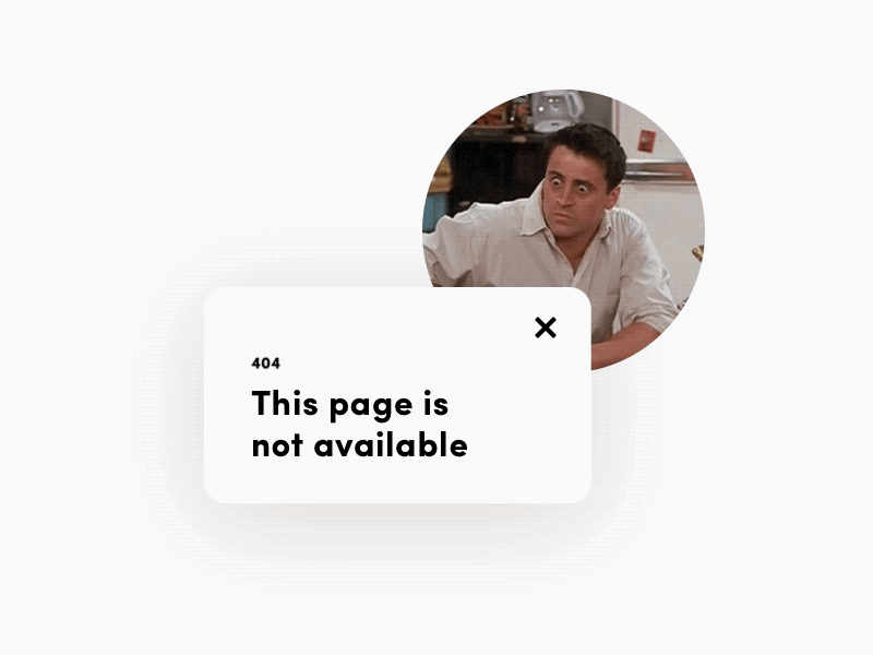 Daily UI 404 Page