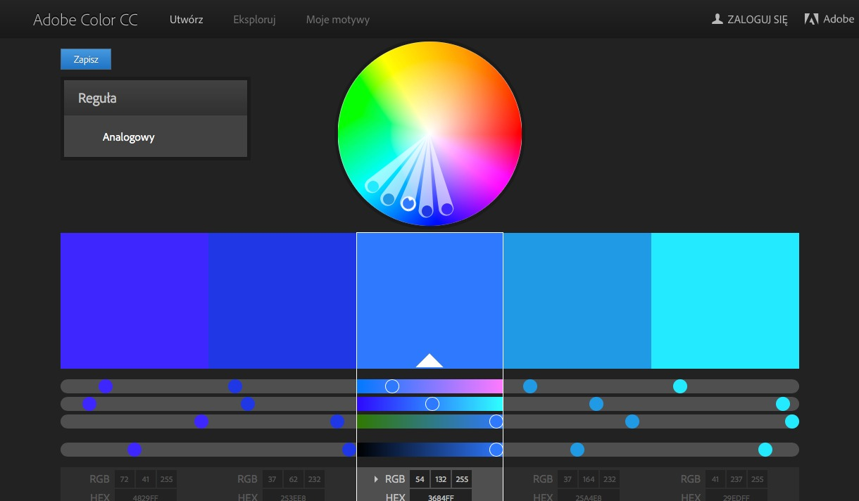 How to use colors inUIDesign