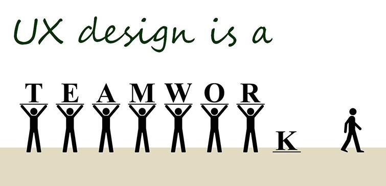 UX designer teamwork