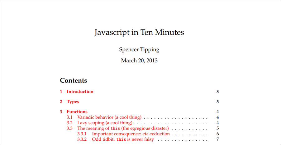 Javascript-in-10-minutes