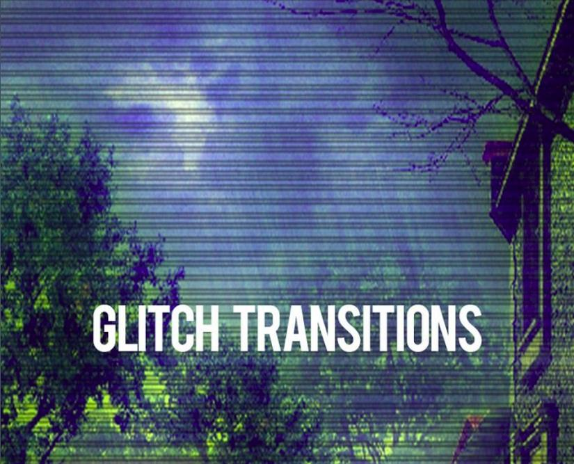 Glitch After Effects Intro
