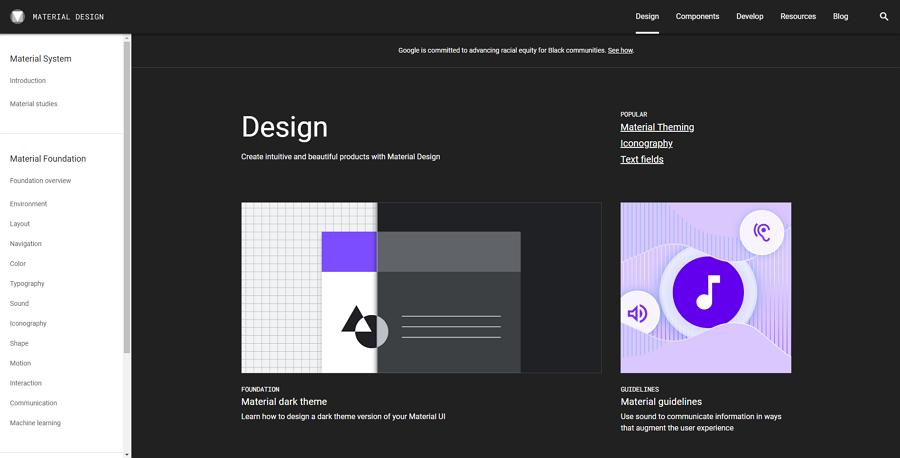 Google Design System
