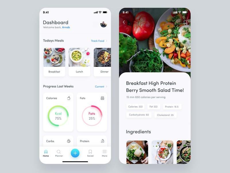 Meal Planner Application Design