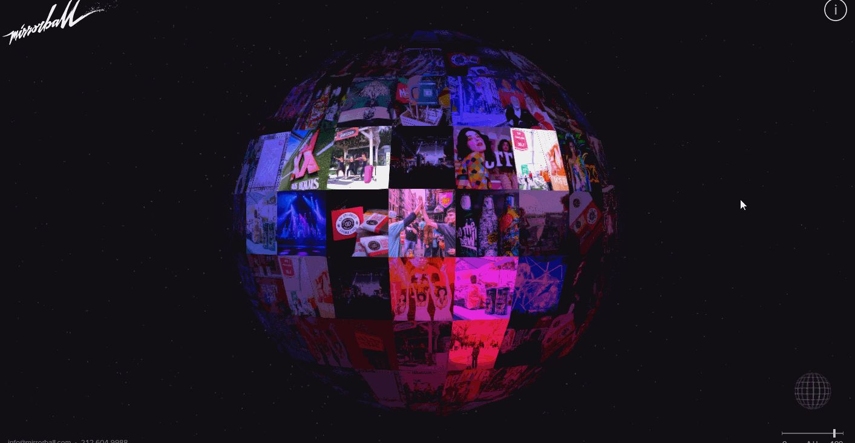 Mirror Ball UI Animation