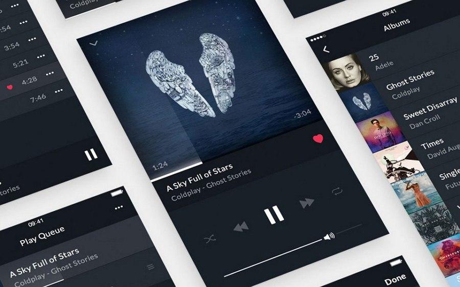 Music Player UI Kit