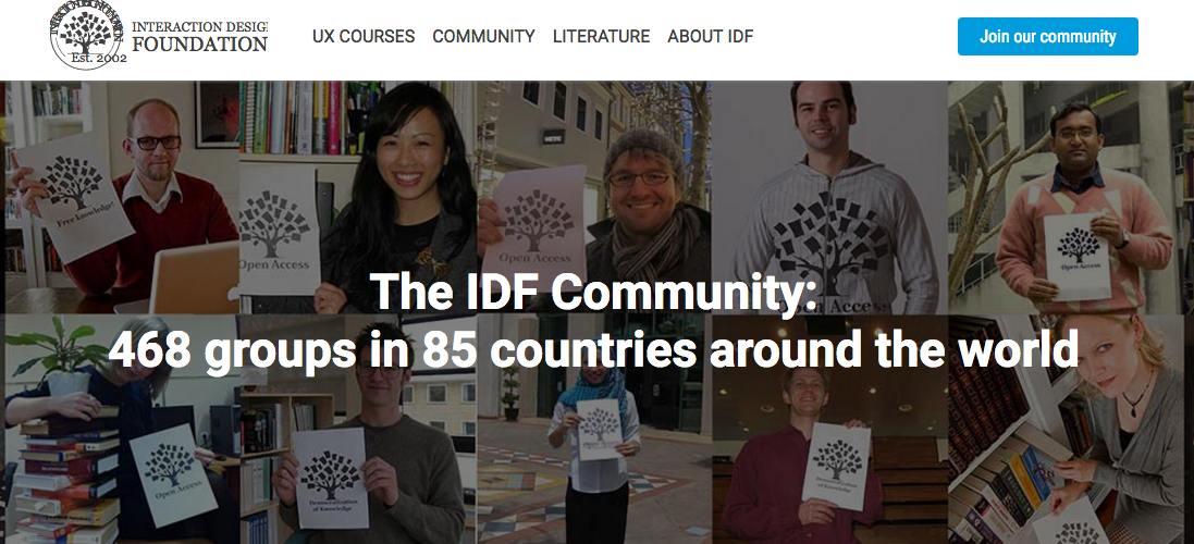 The Interaction Design Foundation Community