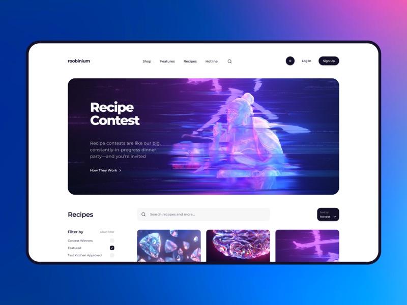Cyberpunk Neon Recipe Contest