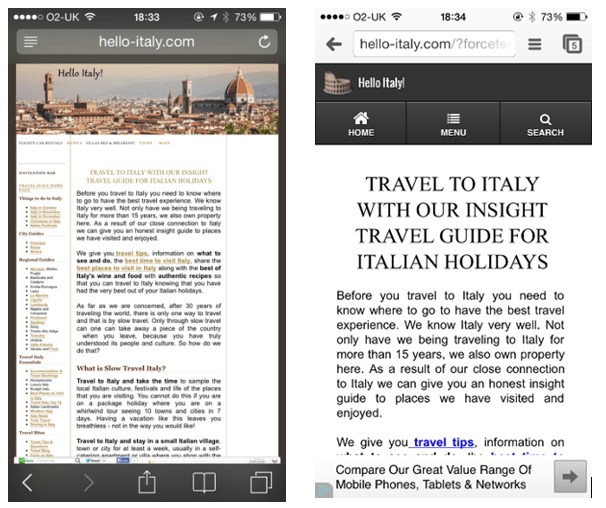 Mobile-font-size