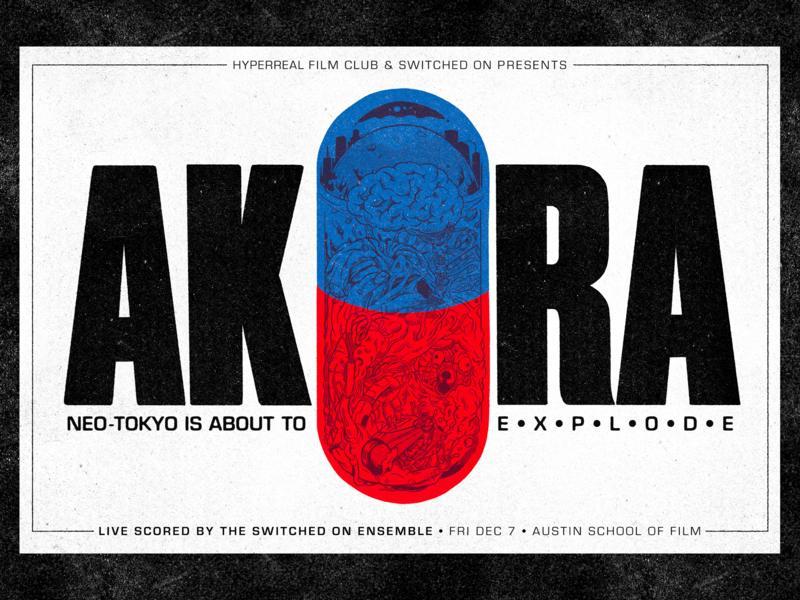 AKIRA Event Poster