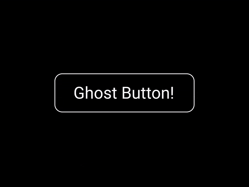 Ghost Button Animation