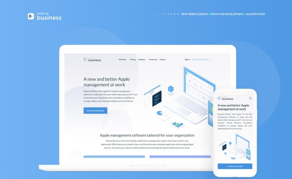 Mosyle Business - Web Design