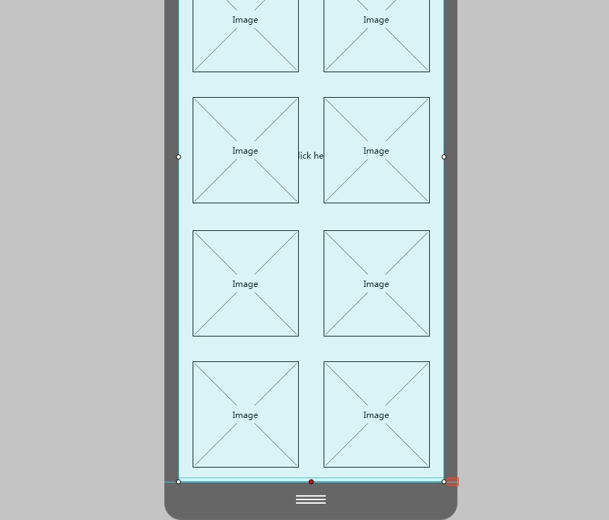 Second scroll box