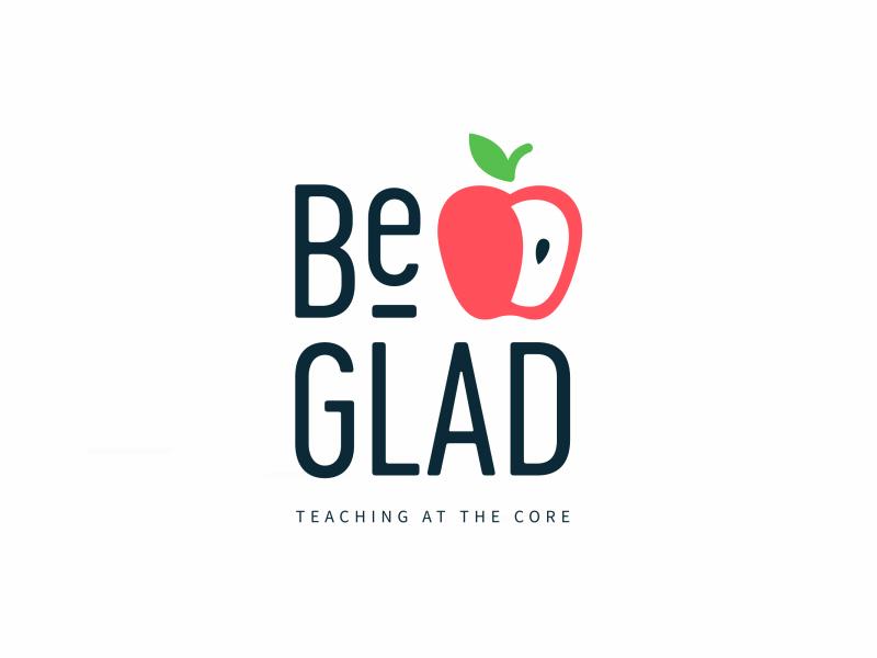 Be GLAD Logo Animation