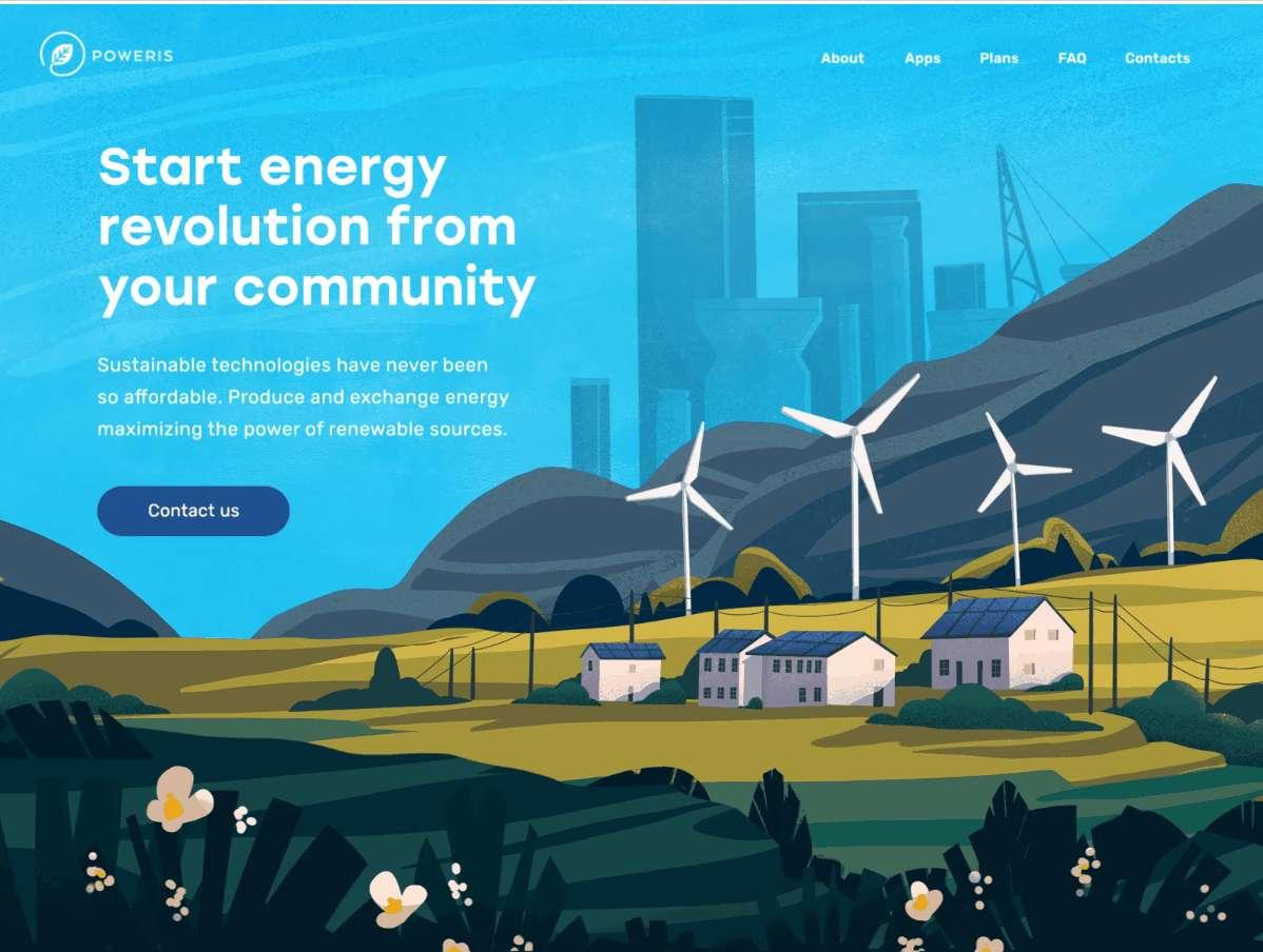 Innovative Energy Service Website