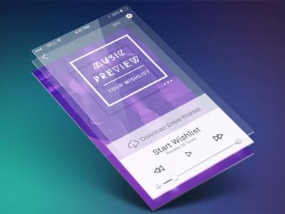Layered interface
