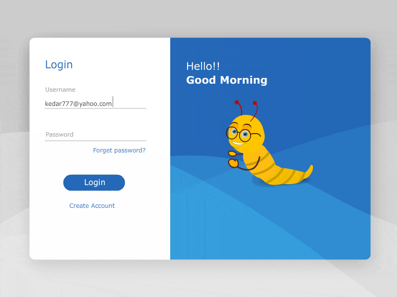 Sign In Form UI Animation