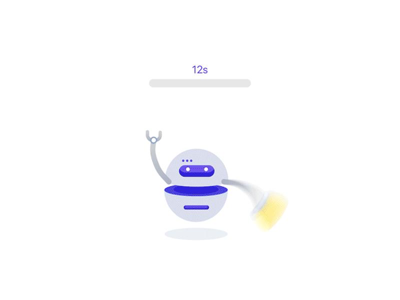 Robot Loading Animation