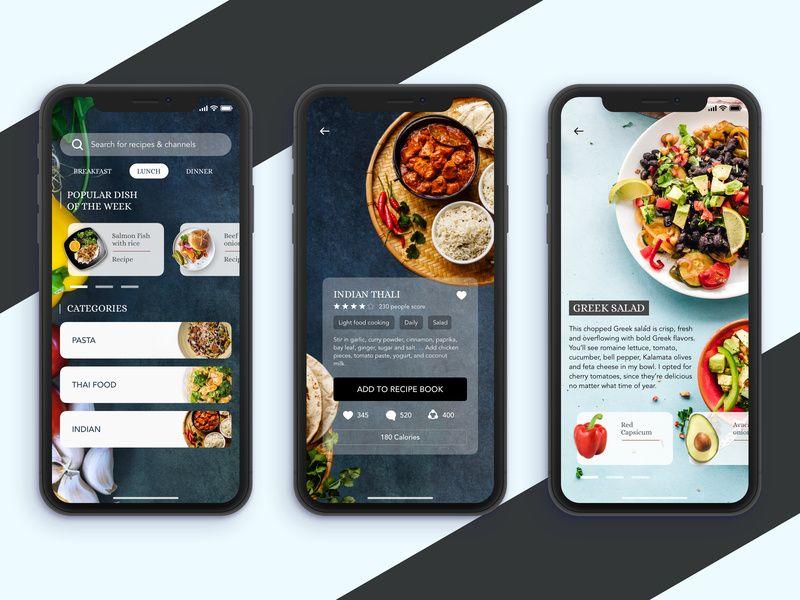 Healthy Food Recipe App