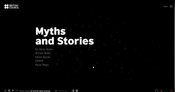 Storytelling Website Example