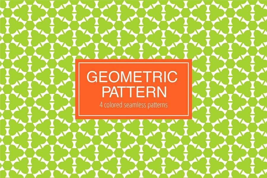 Seamless Geometric Free Pattern