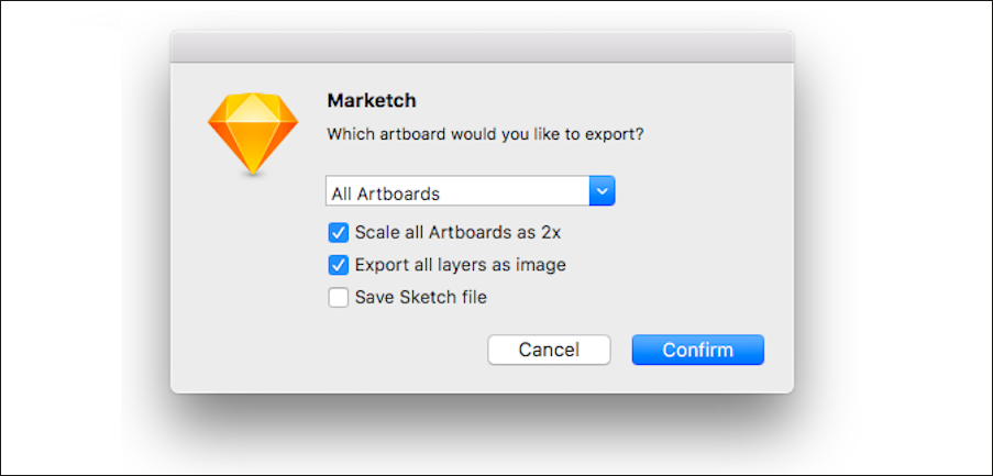 Name and export it